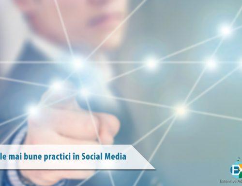 Cele mai bune practici în Social Media