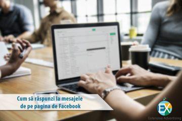 Cum să răspunzi la mesajele de pe pagina de Facebook