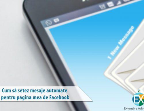 Cum să setez mesaje automate pentru pagina mea de Facebook