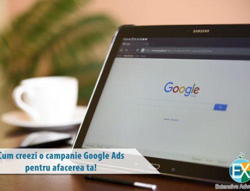 Campanie Google Ads Search – Cum creezi pentru afacerea ta!